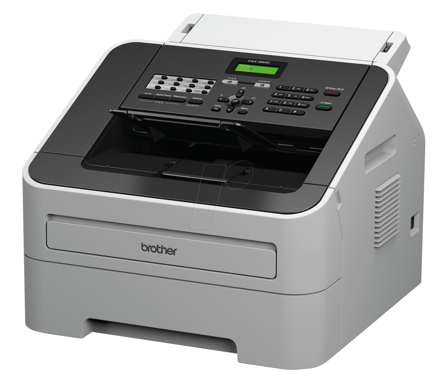 Brother fax machine BROTHER FAX2940G1 - PNG Fax Machine