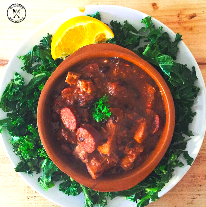 Feijoada - Brazilian Meat and Black Bean Stew - PNG Feijoada