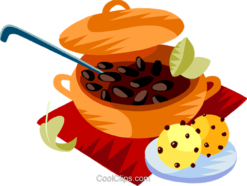 Feijoada, The Brazilian national dish Royalty Free Vector Clip Art  illustration - PNG Feijoada