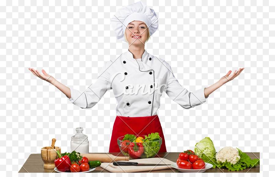 PNG Female Chef - 141762