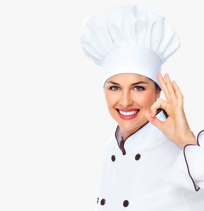 PNG Female Chef - 141754