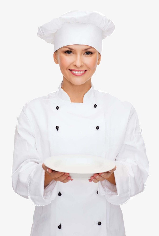 Female Chef, Chef Cooking, Clothing Creative Advertising, Vegetables PNG  and PSD - PNG Female Chef