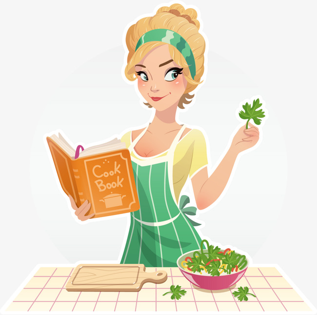 Female Chef, Decoration, Vector, Female PNG and Vector - PNG Female Chef