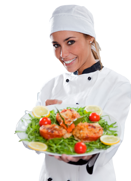 PNG Female Chef - 141766
