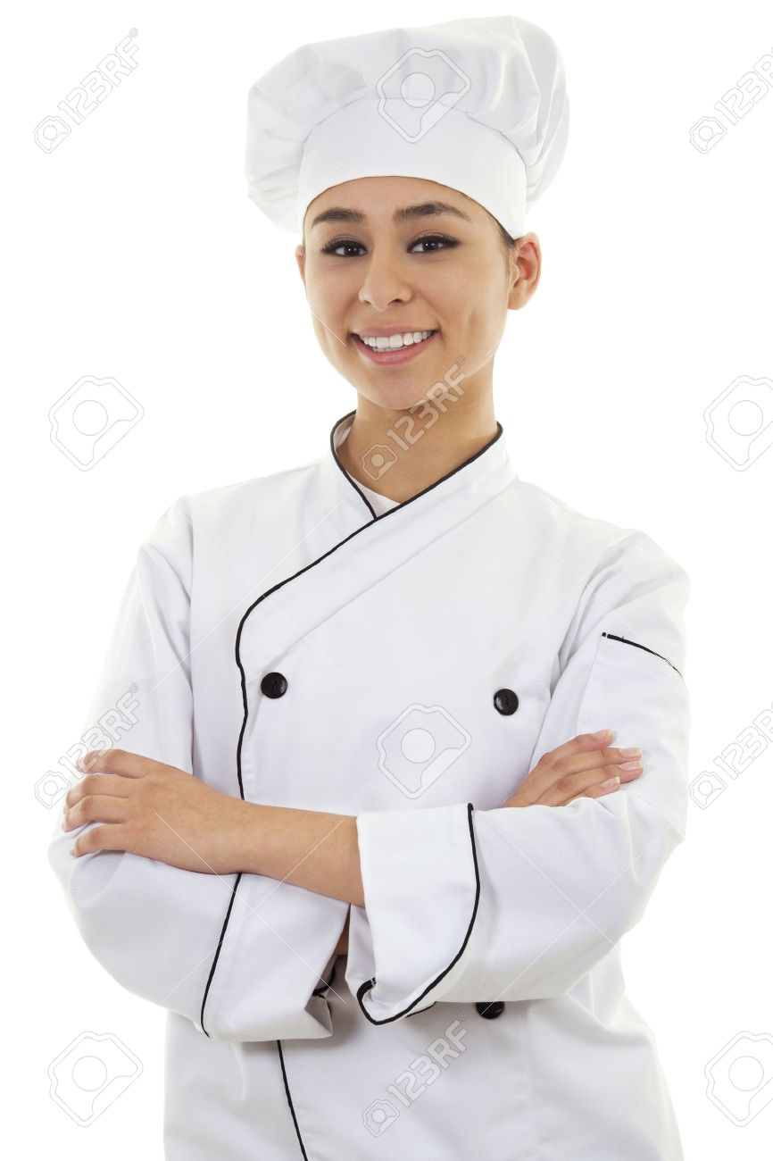Stock image of female chef isolated on white background Stock Photo -  9814510 - PNG Female Chef