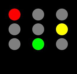 PNG Feu Tricolore