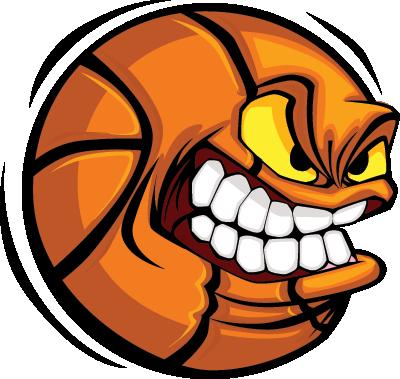 PNG File Name: Angry Basketball PNG - Basketball PNG