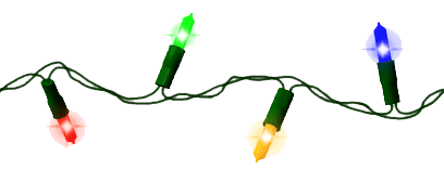 Christmas Lights PNG - 6027