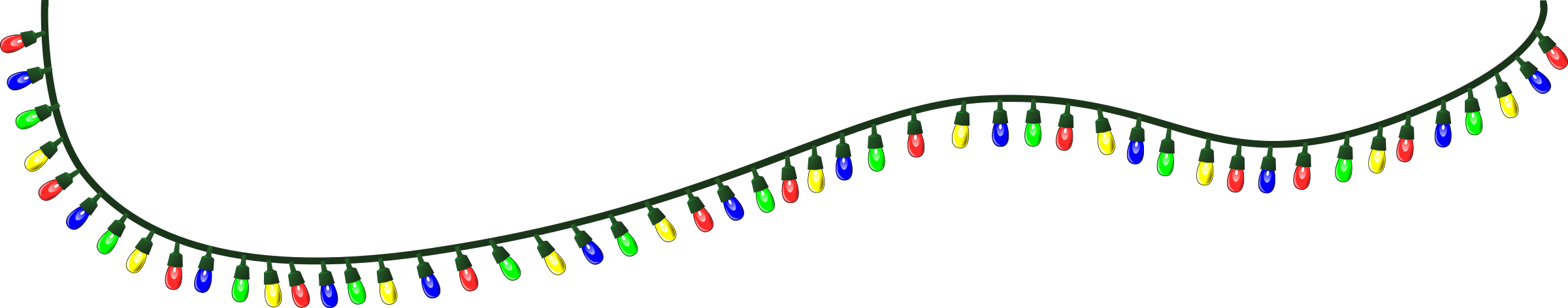 Christmas Lights PNG - 6040