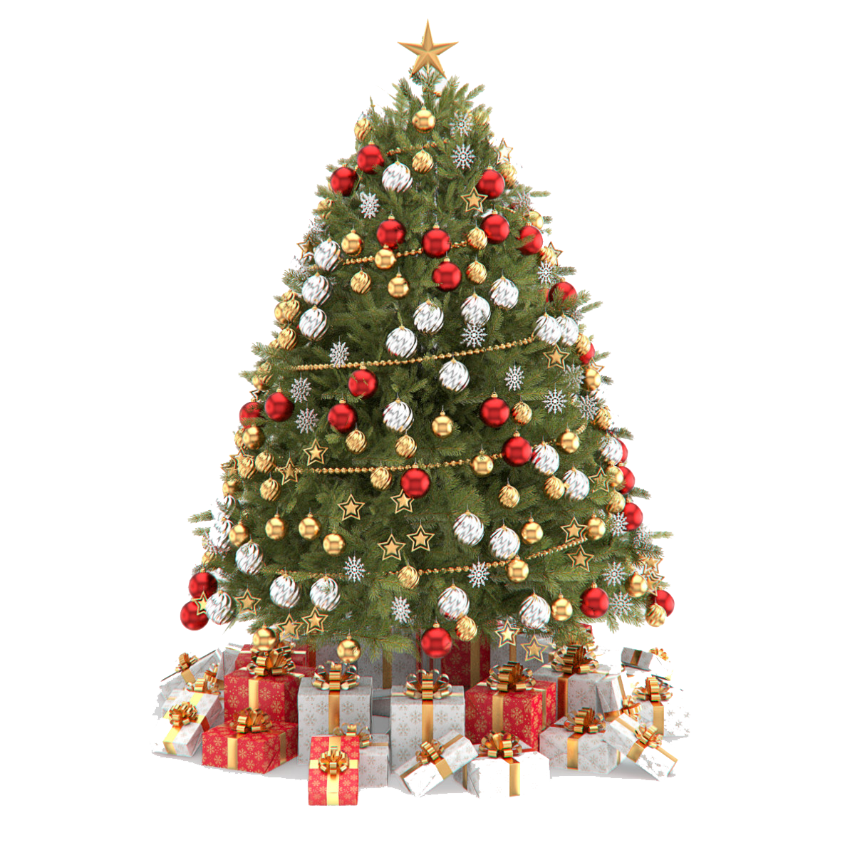 Christmas Tree PNG - 6110