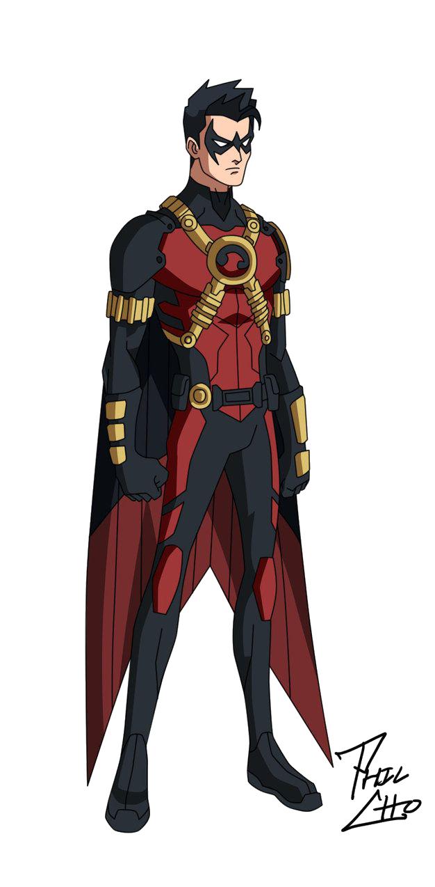Superhero Robin PNG - 4167