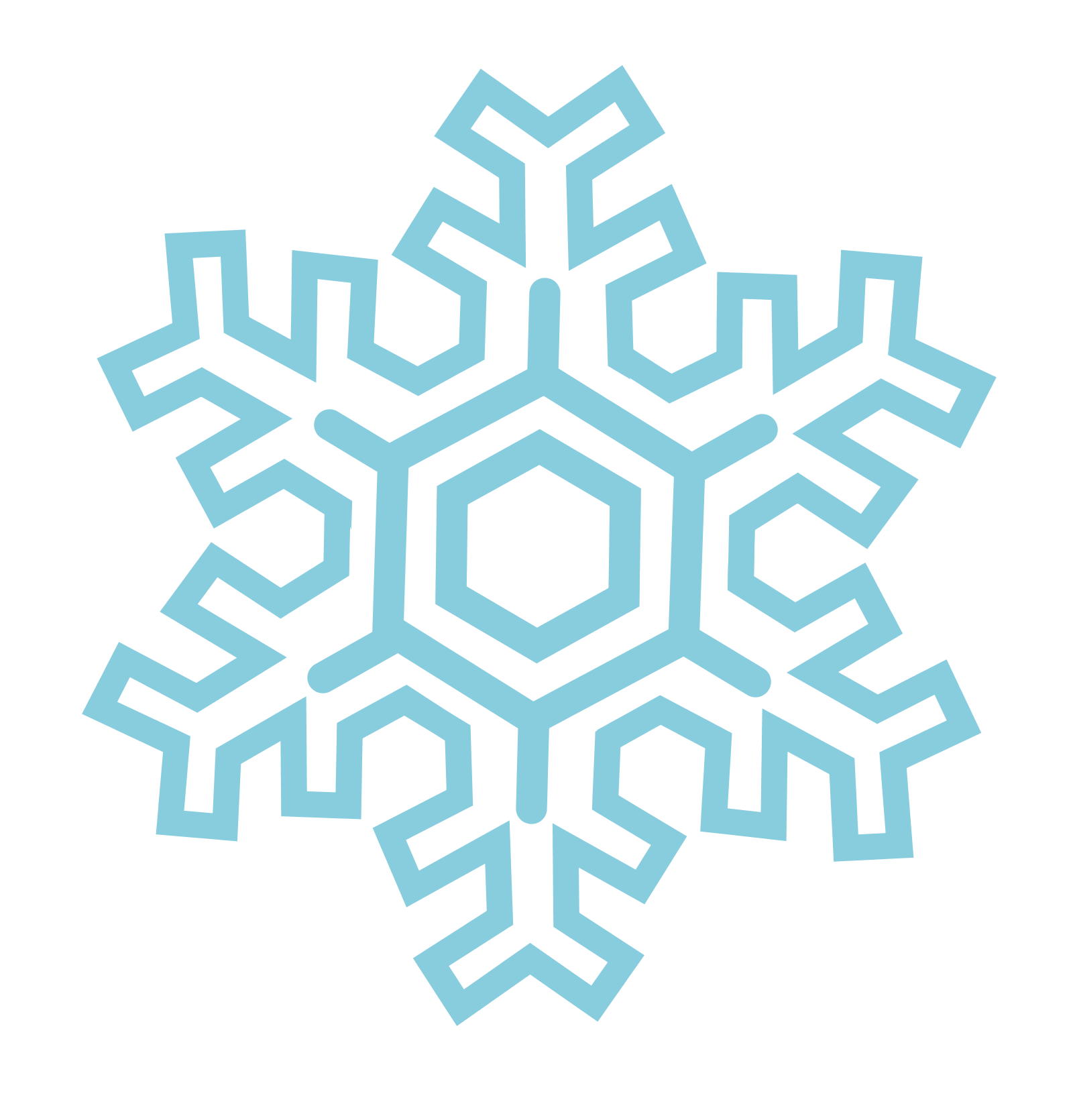 Snowflakes PNG - 6146