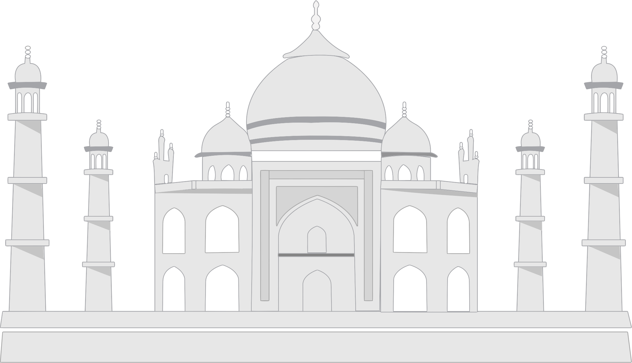 PNG File Name: Taj Mahal Transparent Background - Taj Mahal PNG