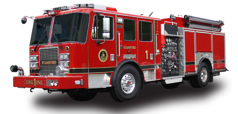 Feel free to use my design, as long as you credit me. - PNG Fire Truck