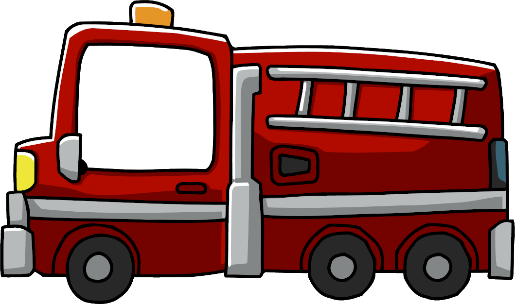 Fire Engine.png - PNG Fire Truck