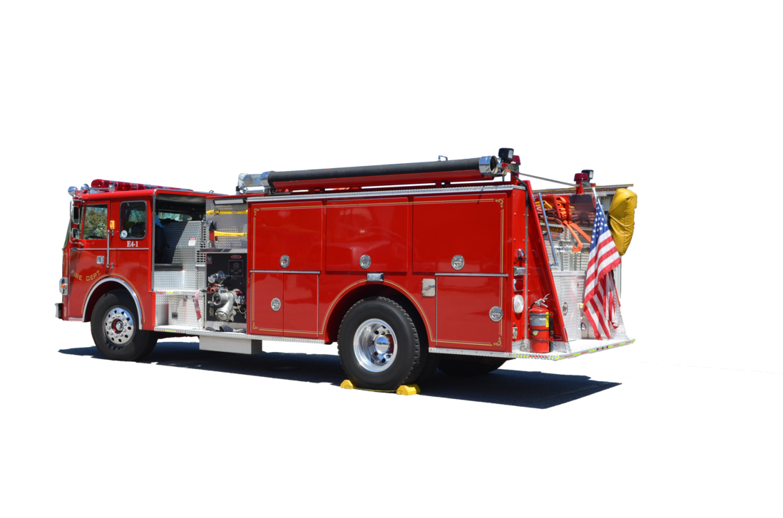 Fire Engine Truck PNG Stock Photo 0104 by annamae22 PlusPng.com  - PNG Fire Truck