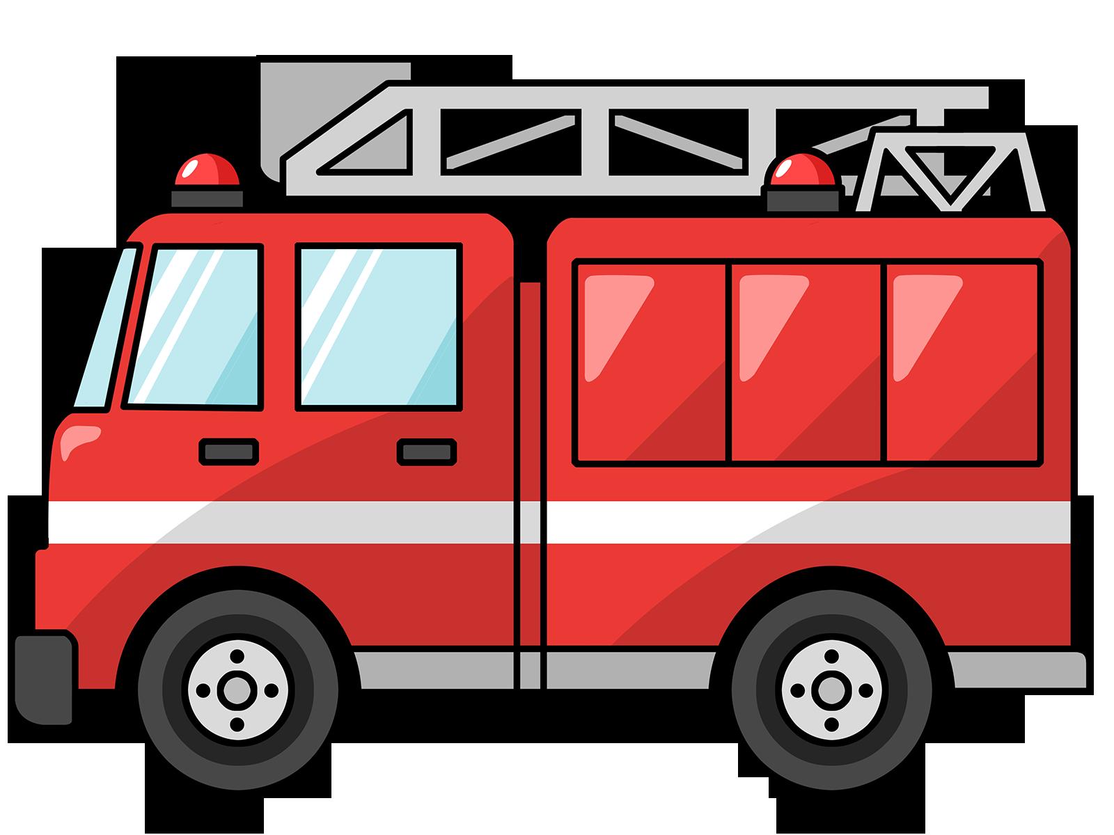 fire truck clipart - Google Search - PNG Fire Truck
