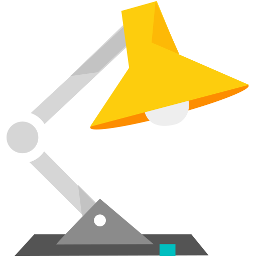 Lamp icon - PNG Flat