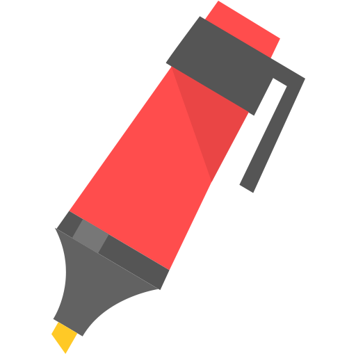 Marker icon - PNG Flat