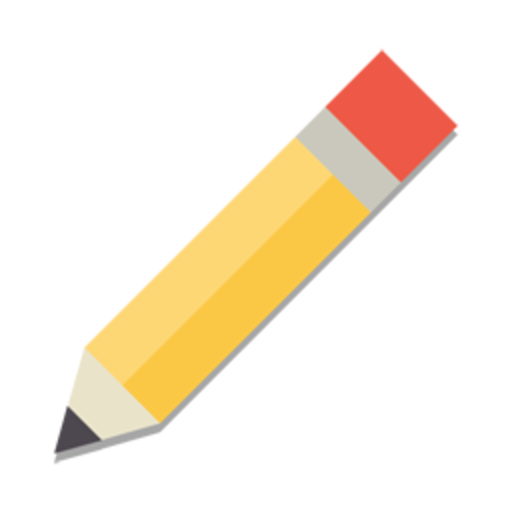 Pencil Icon Flat PNG - PNG Flat