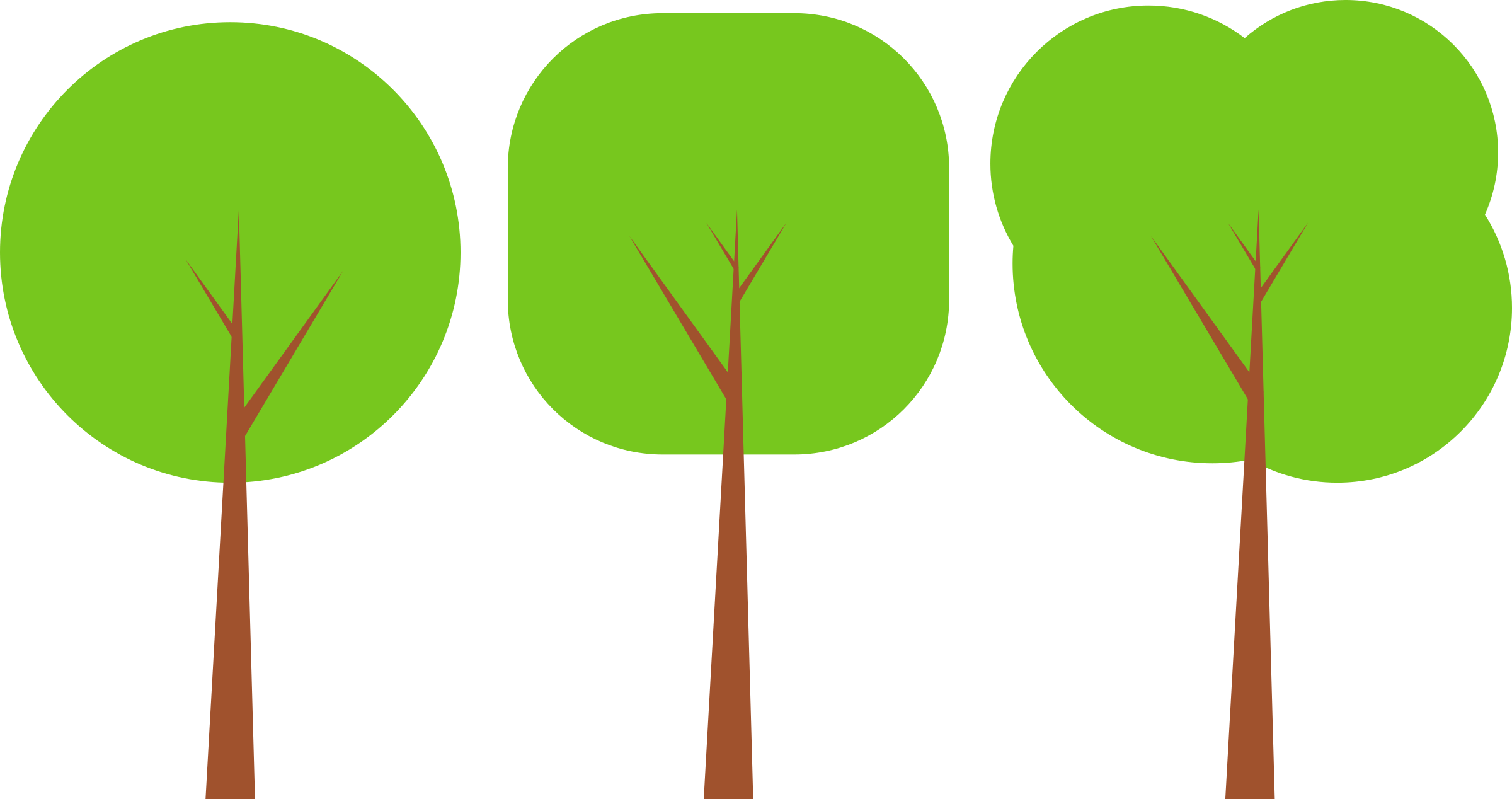 This free Icons Png design of Flat Tree PlusPng.com  - PNG Flat