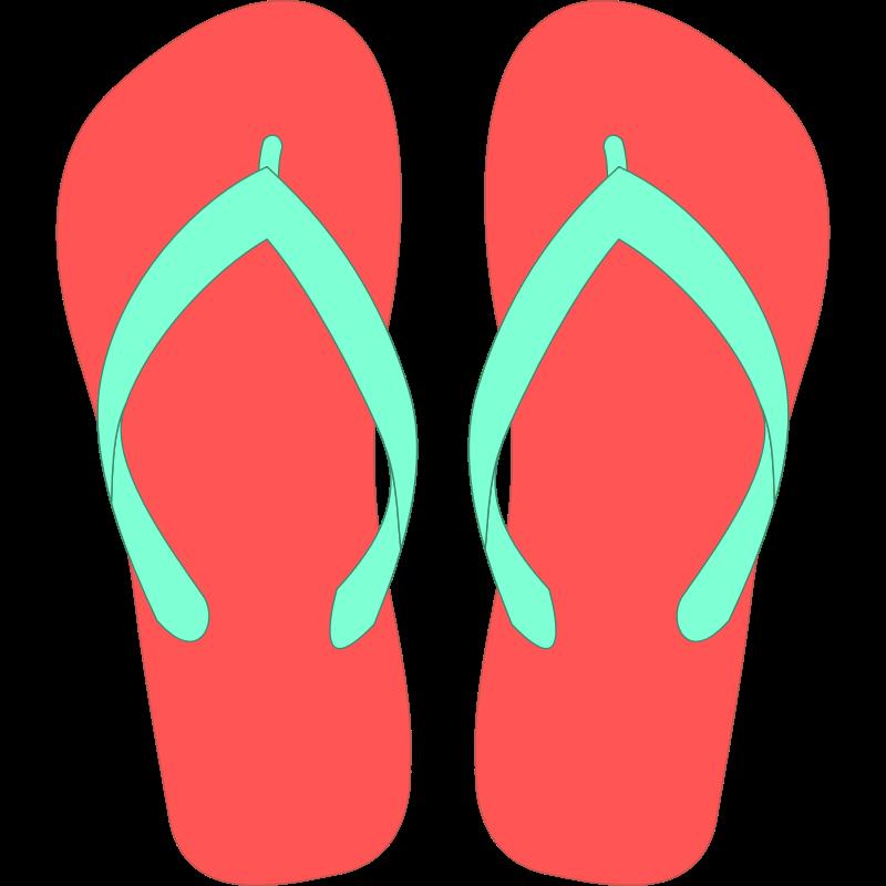 Flip flops clip art clothes clipart flip flops clipartcow - PNG Flip Flop