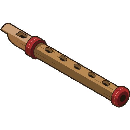 PNG Flute-PlusPNG.com-500 - PNG Flute