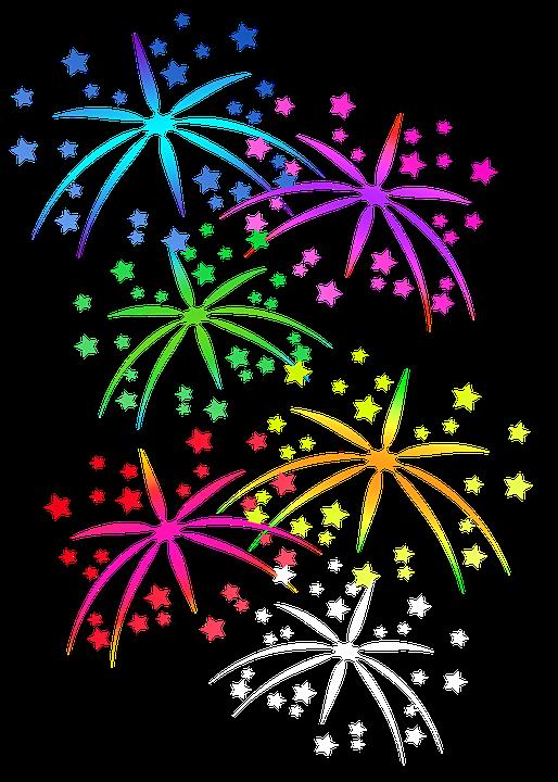 Fogos De Artifício, Estrelas, Celebração - PNG Fogos De Artificio