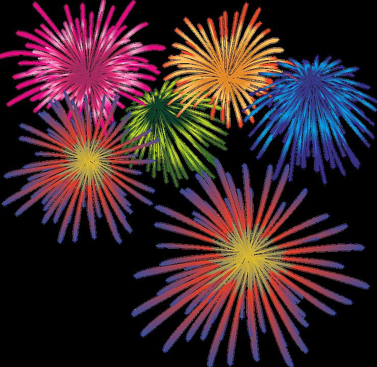 Fogos De Artifício, Véspera De Ano Novo, Sparkler - PNG Fogos De Artificio