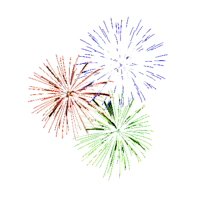 PNG Fogos De Artificio