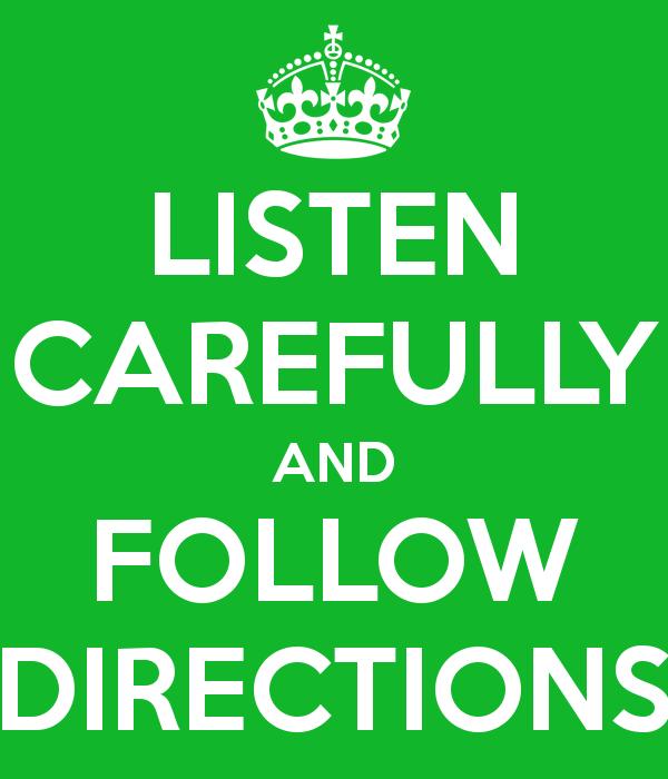 Png Follow Directions Transparent Follow Directionsg Images