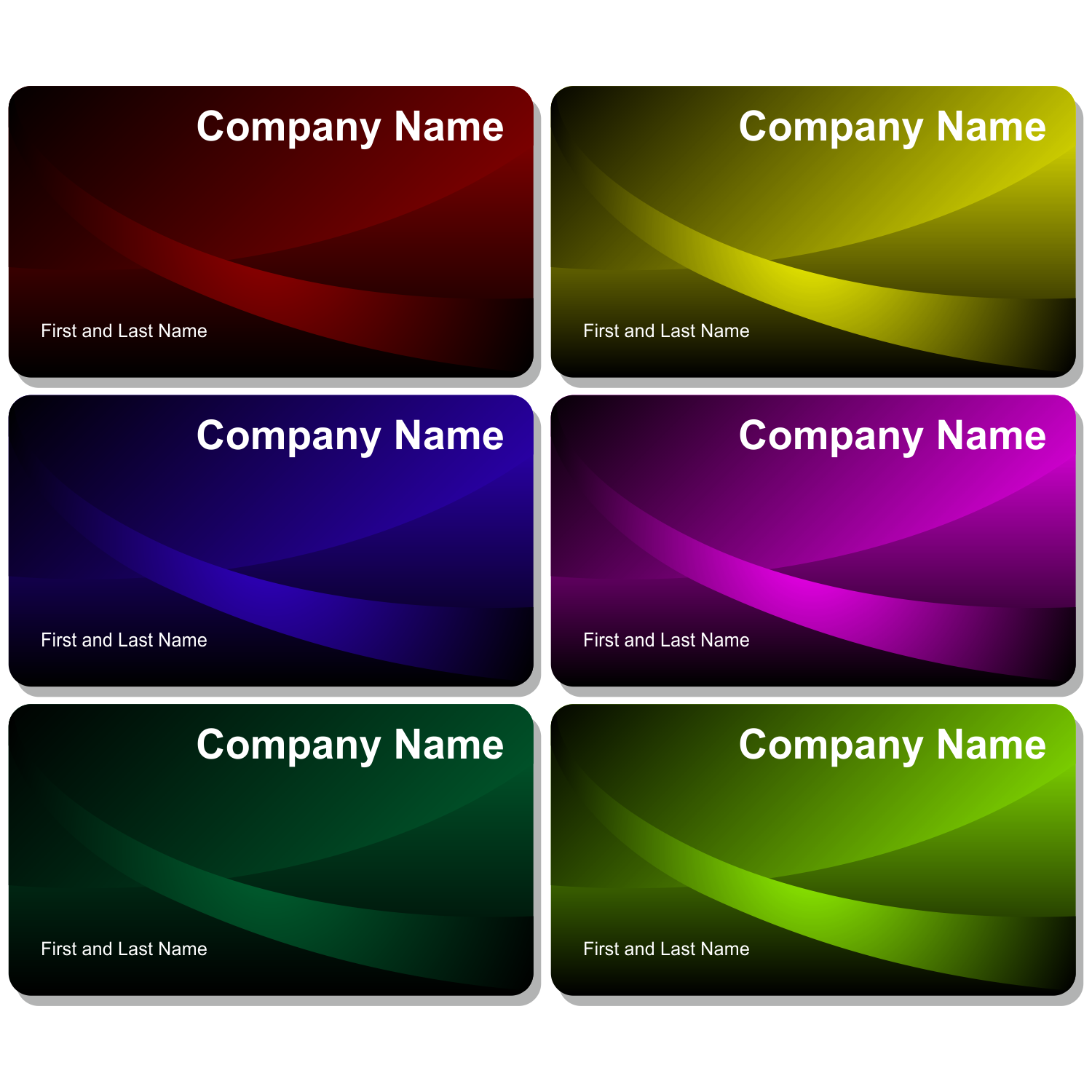 Beautiful business cards - PNG For Business Use