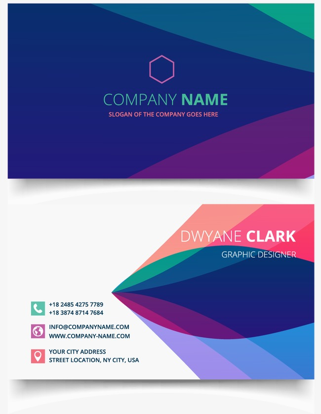 Business card, Business Cards, Simple Business Cards, Fashion Business Card  PNG and Vector - PNG For Business Use