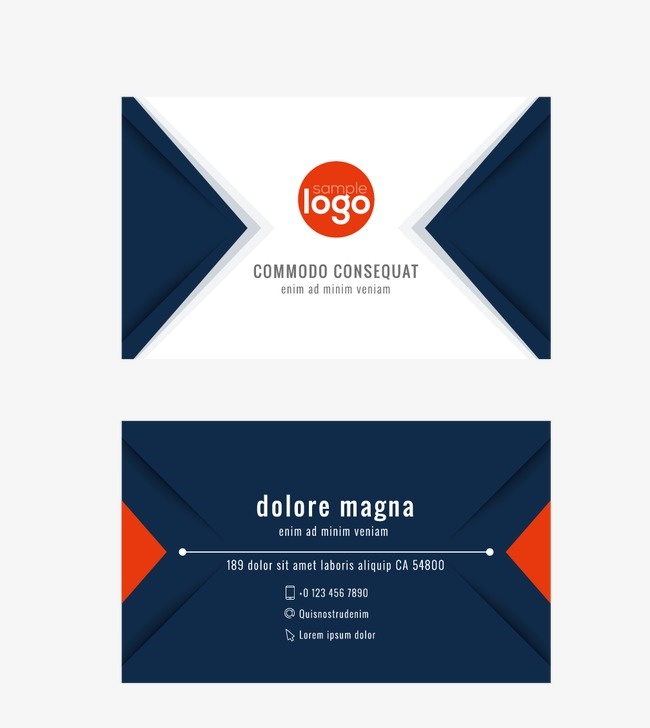 business cards, Simple Business Cards, Business Card PNG and Vector - PNG For Business Use