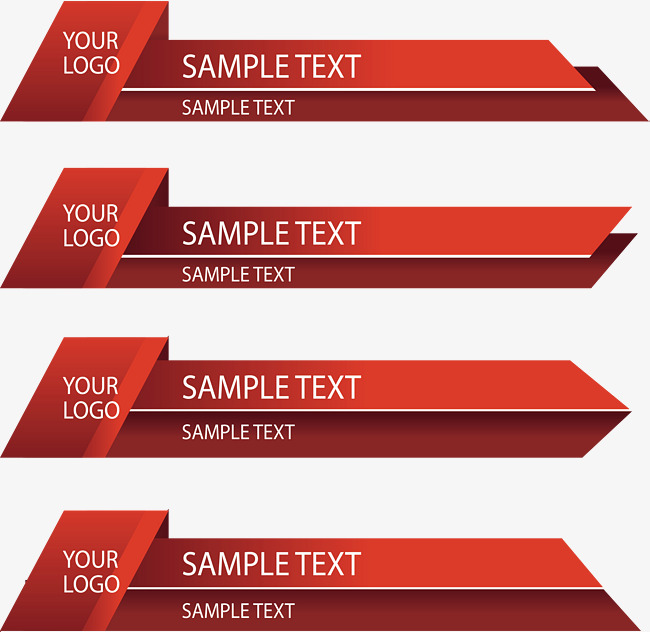 red origami business banner, Vector Png, Banners, Business Banner PNG and  Vector - PNG For Business Use