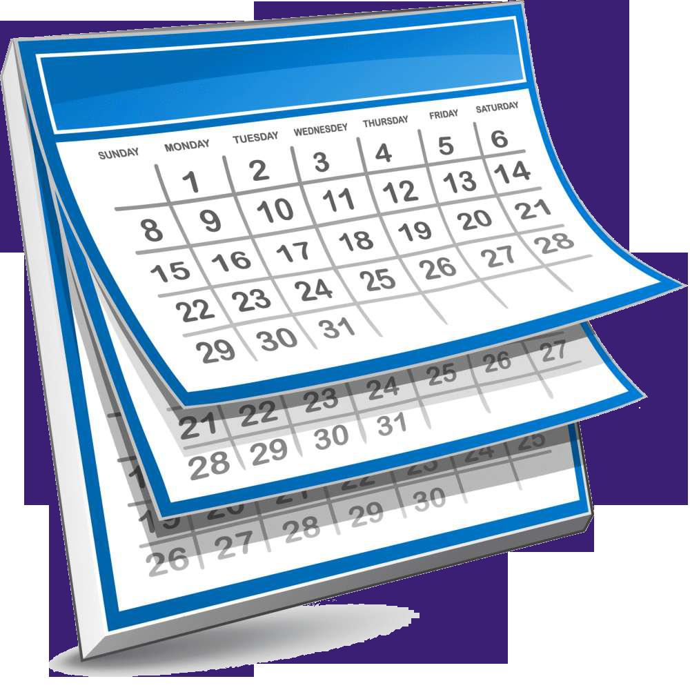 Calendar Transparent - PNG For Calendar