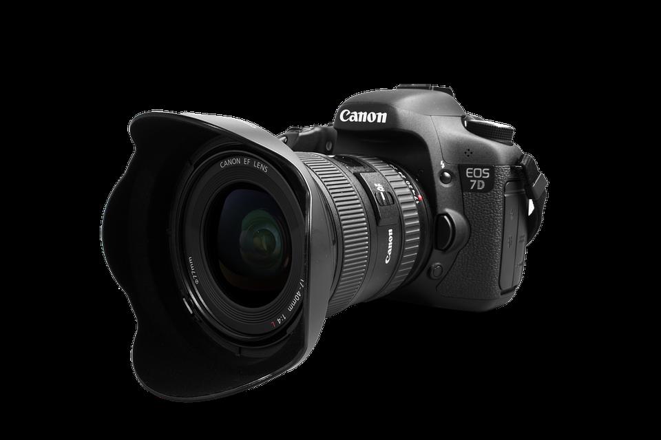 Kamera, Fotografie, Canon, Objektiv, Digitalkamera - PNG Fotokamera