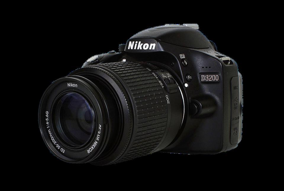 Kamera, Nikon, Nikon 3200, Alte Camera, Fotokamera - PNG Fotokamera