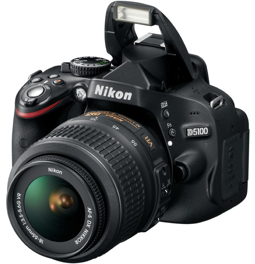 The D5100 is a new digital SLR from Nikon that has been described as being  for the advanced beginner. The camera is a successor to the older D5000. - PNG Fotokamera