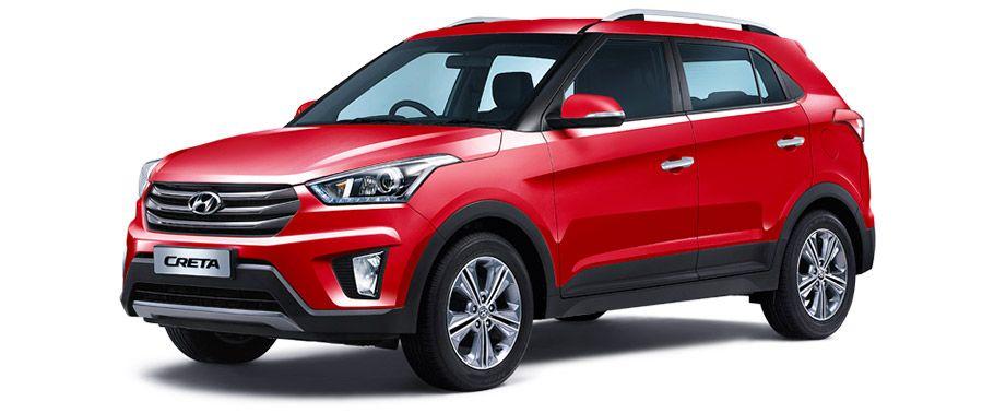 Hyundai Creta 2017 1.6 E Plus Petrol Image - PNG Four Wheeler