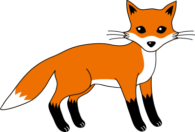 PNG Fox Cartoon - 66275