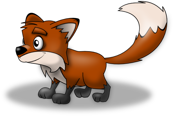 PNG Fox Cartoon - 66273