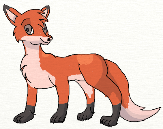PNG Fox Cartoon - 66282
