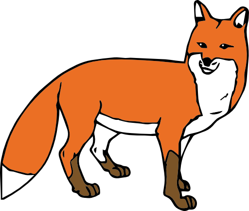 PNG Fox Cartoon - 66279