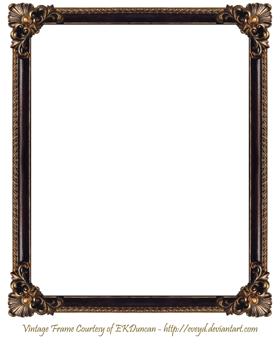 frame png | Elaborate Wood Frame 3 by EKDuncan by EveyD on deviantART - PNG Frames For Pictures
