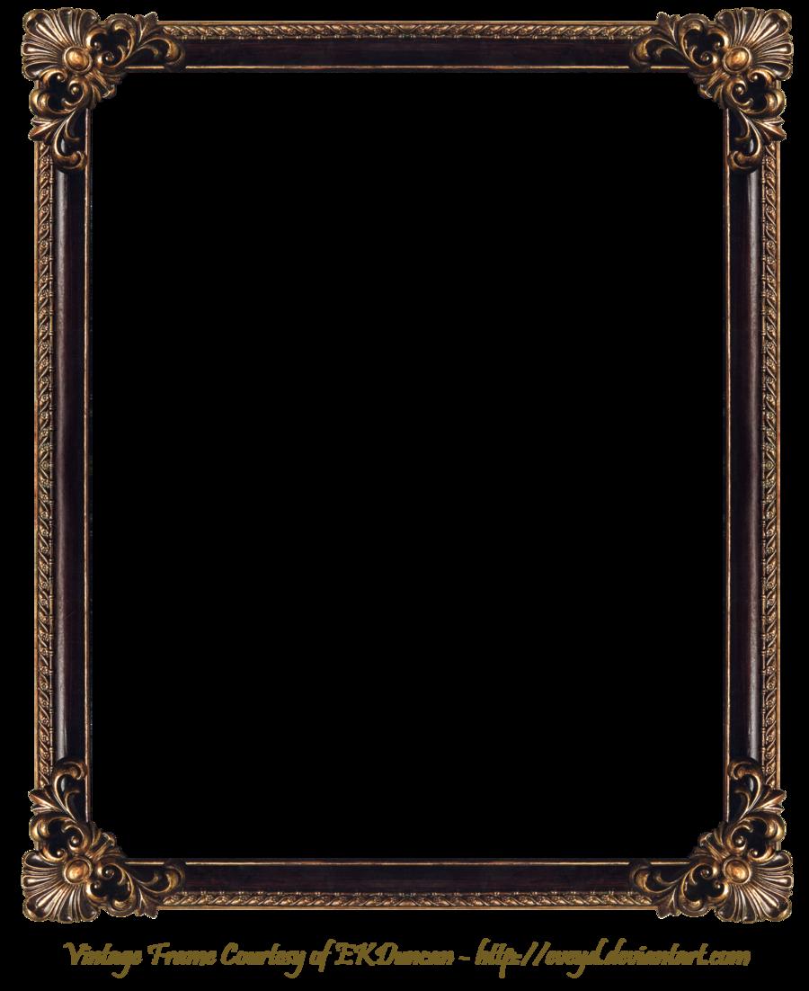 Frame Png | Elaborate Wood Frame 3 By EKDuncan By EveyD On DeviantART - PNG Frames For Pictures