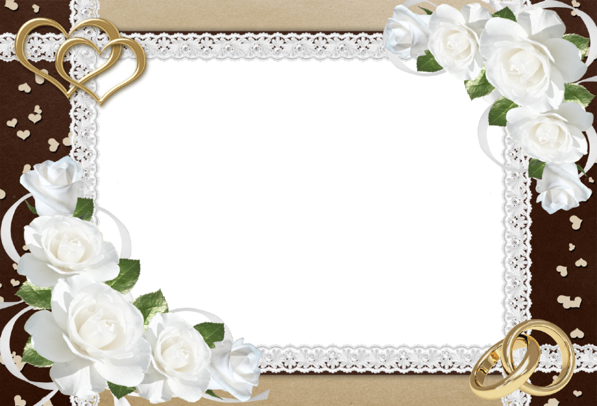 Wedding Frame PNG Clipart