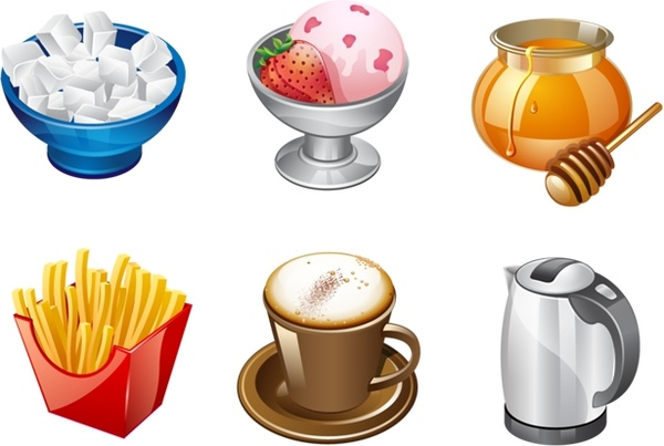 Real Vista Food Icons icons pack - PNG Free Download