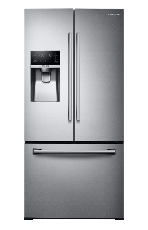 Image for Samsung Bottom Freezer and French Doors Refrigerator -  RF26J7500SR/AA from Brault u0026 - PNG Fridge