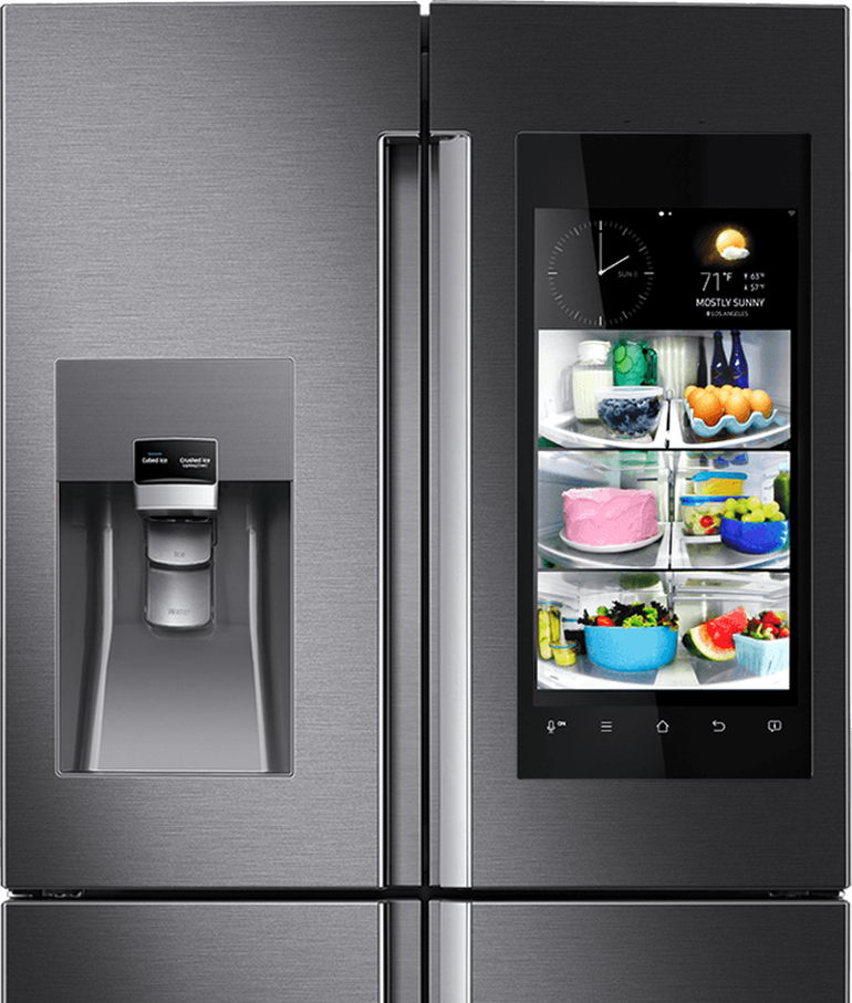 samsung-smart-fridge.png - PNG Fridge